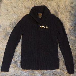 Ralph Lauren black mock turtleneck sweater